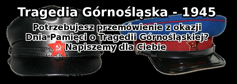 Przemówienie z okazji dnia tragedii Górnośląskiej